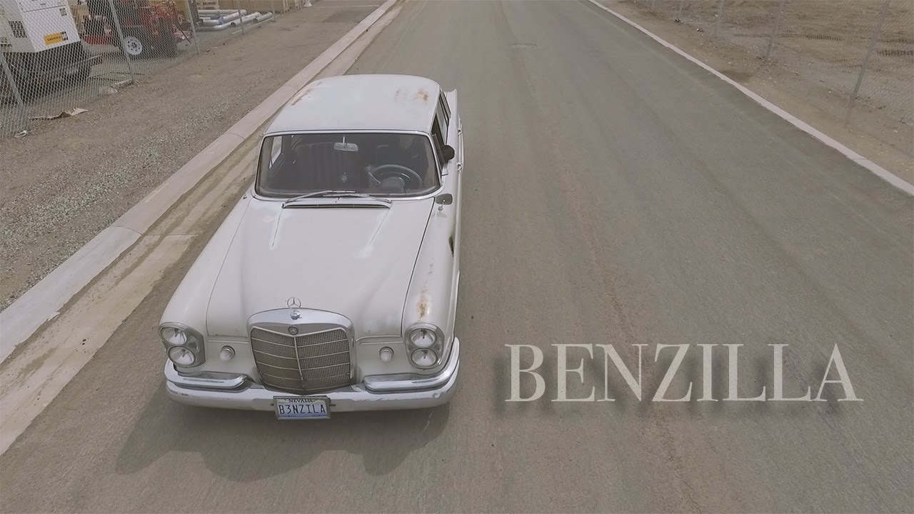 Benzilla - The RB25 Swapped 1965 Mercedes 220se