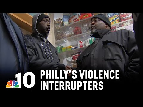 Violence Interrupters: How Crisis Workers Are Stopping Philly Crime | NBC10 Philadelphia