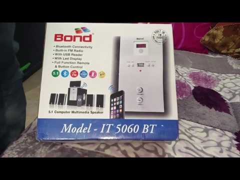 Unboxing Video of BOND 5.1 IT5060 BT Multimedia speaker