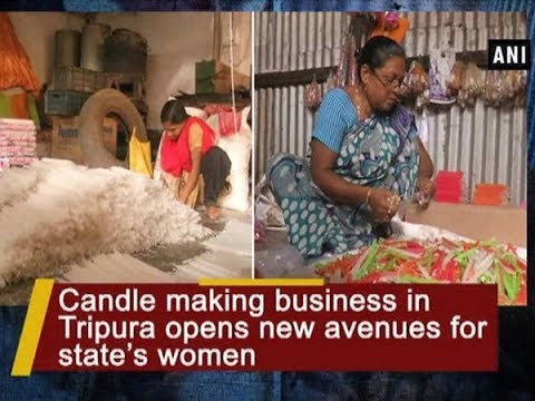 Candle making business in Tripura opens new avenues for state's women - Tripura News