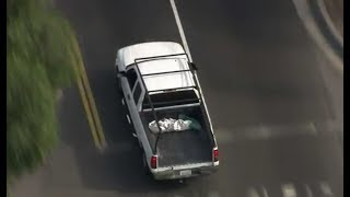 LA County/Long Beach Police Chase