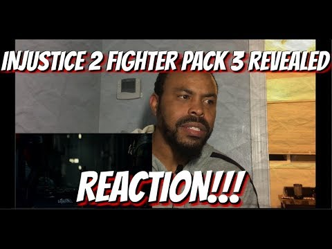 Thumbnail: Injustice 2 – Fighter Pack 3 Revealed REACTION!!!