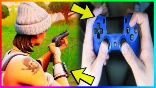 How to Play Fortnite Like a PRO on Console! (PS4/Xbox One) BUILD FAST & EASY WINS!