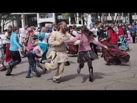 1 мая 2017 Хабаровск, праздник ВЕСНЫ И ТРУДА, СОДРУЖЕСТВО РУССКИХ ОБЩИН ХАБАРОВСКА