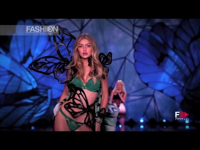 GIGI HADID Victoria's Secret Fashion Show 2015 by Fashion Channel