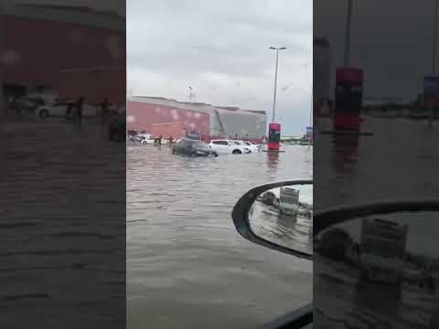 наводнение в дубай