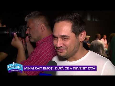 Mihai Rait, Dorel din Las Fierbinti, a devenit tata