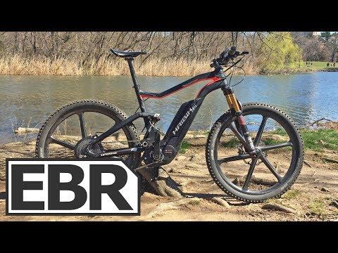 Haibike XDURO FullSeven Carbon Ultimate Video Review - Light Carbon Fiber Electric Bike