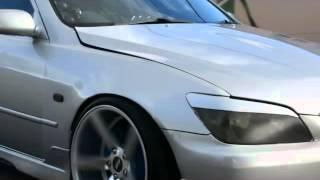 видео Тюнинг Toyota Altezza V300. Дрифт проект
