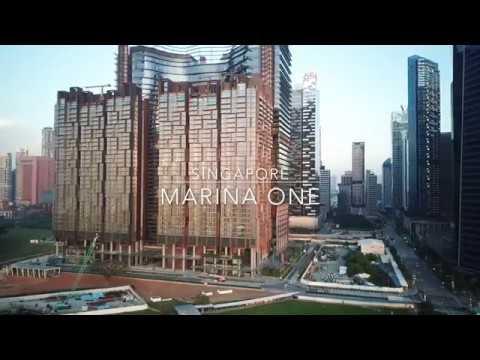 DJI Mavic Pro - Marina One @ Central Business District, Singapore