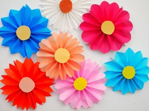 Beautiful Paper Rosettes | DIY Paper Craft Tutorial l db origami