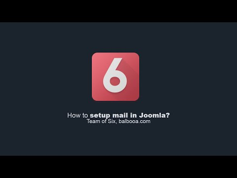 How To Setup Mail In Joomla?