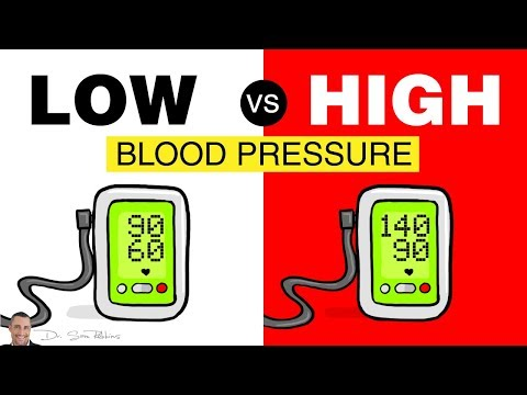 💓 What's Worse - Low or High Blood Pressure?