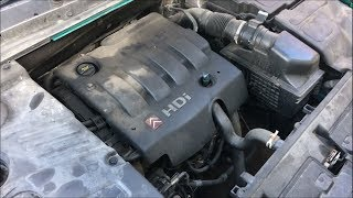 How to do an Engine Service on a Citroen C5 2.0 HDi