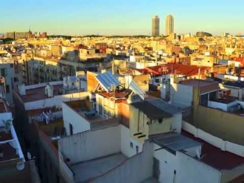 Las terrazas de los hoteles de Barcelona