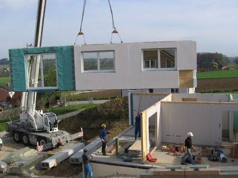 Come si costruisce una casa prefabbricata in legno spazio positivo by rensch haus youtube - Come si vende una casa ...