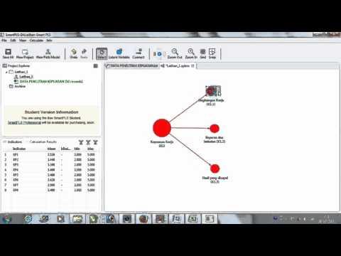 Latihan Analisis Menggunakan Smart PLS