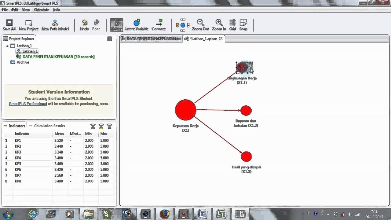 Latihan analisis menggunakan smart pls youtube latihan analisis menggunakan smart pls ccuart Images