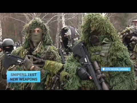Ukraine's New Sniper Rifles: Deadly weapons to fight Russia's war in Donbas