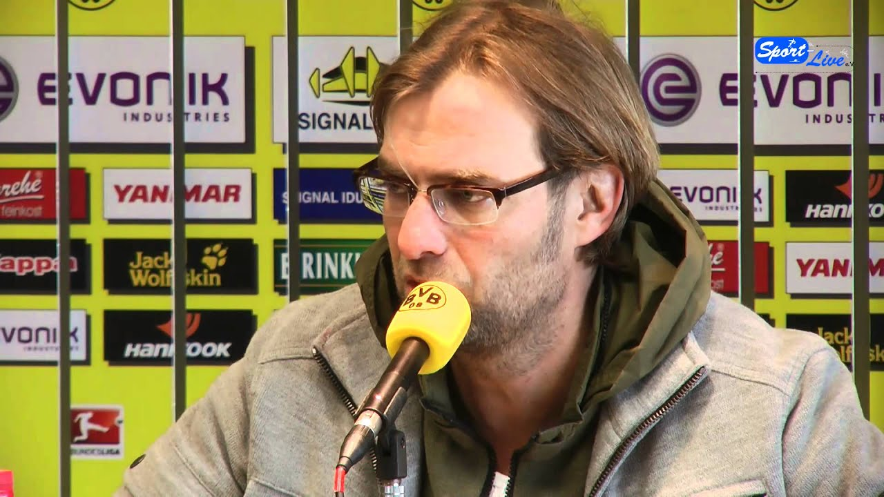 Borussia Dortmund - 1.FC Nürnberg Pressekonferenz 01.02.2012 Teil 1