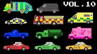 Vehicles Collection Volume 10 - Find the Vehicles, UK Vehicles - The Kids' Picture Show
