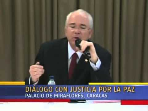 Diálogo Maduro-Oposición: Palabras de Rafael Ramírez