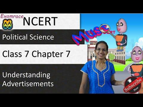 NCERT Class 7 Political Science Chapter 7: Understanding Advertisements