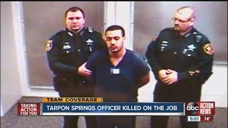 Suspected cop killer makes court appearance