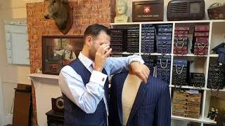 JACKET ALTERATIONS What Can Be Done ? English Tailor Discusses Options