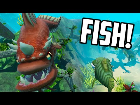 Feed And Grow Fish - THE DRAGON FISH UPDATE (Early Access Gameplay)