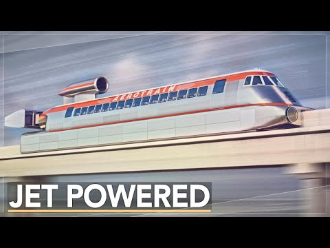 The Problem With Fast Trains: What Happened to Hovertrains?