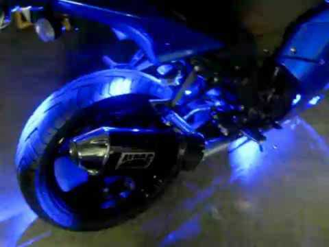 Kawasaki Ninja 250r Blue Led