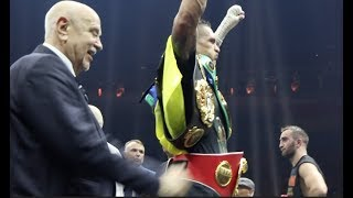 MURAT GASSIEV GRACIOUS IN DEFEAT AS HE WATCHES ALEKSANDR USYK RAISE ALL FOUR BELTS IN RING