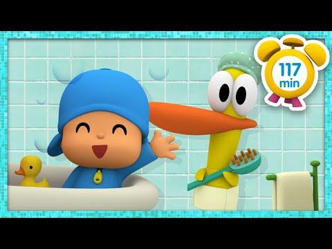 🛁 POCOYÓ En ESPAÑOL - ¡Es Hora Del Baño! [ 117 Minutos ] | CARICATURAS Y DIBUJOS ANIMADOS Para Niños