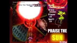 [Danmakufu] Praise the Sun! - Utsuho Reiuji Boss Battle (Troll Script)