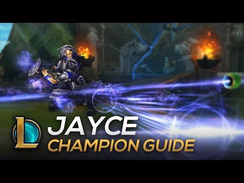 Jayce Guide: Mechanics, Combos, Tips and Tricks   PKB Dovah
