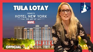 Disney's Hotel New York – The Art of Marvel : rencontre avec Tula Lotay