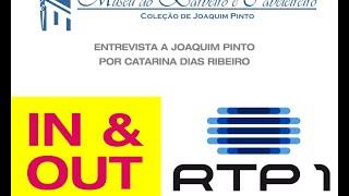"""RTP """"In&Out"""" Catarina Dias Ribeiro, Museu do Barbeiro, com Joaquim Pinto - Pinto"""