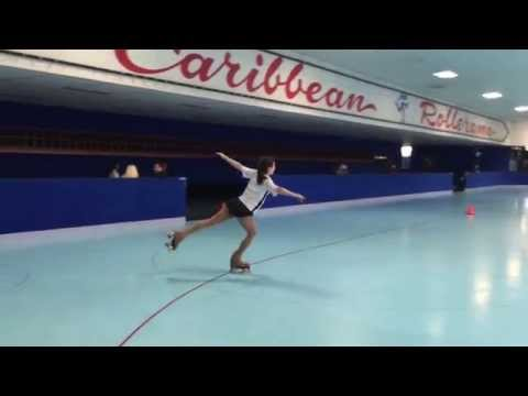 students dare trainer to 'do it then'.. (roller figure skaters)