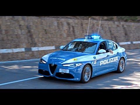 Polizia Stradale in Scorta al Giro d\'Italia 2017 / Italian Police ...