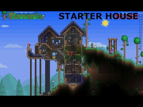 how to build a house in terraria xbox 360