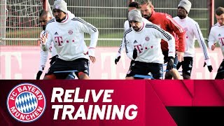First FC Bayern Training back in Munich 🇩🇪 | ReLive