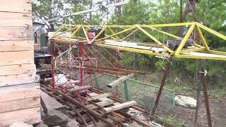 1 модернизация Железнодорожного крана. Дачная жд