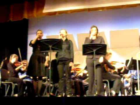 Herrick Middle School and DGN Symphonic Orchestra combined concert 10/15/09