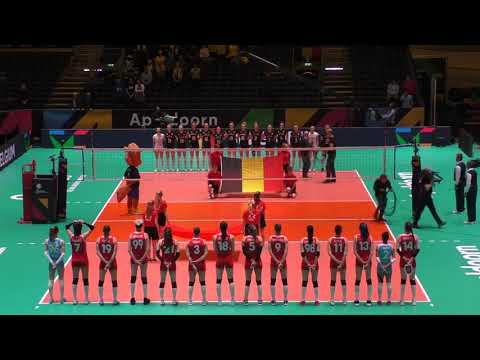 BEL vs TUR, setter black shirt