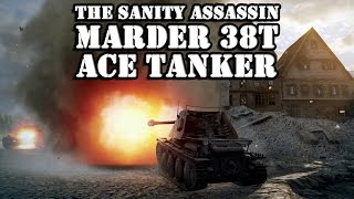 Marder 38T Ace Tanker with The Sanity Assassin