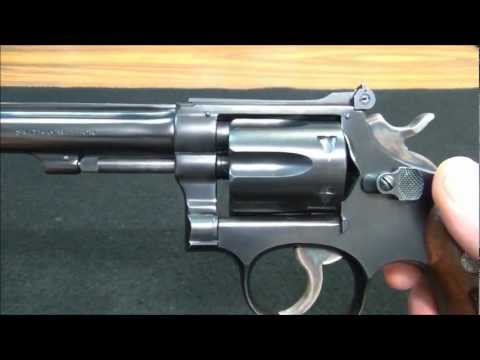 Smith & Wesson K 22 Masterpiece Revolver