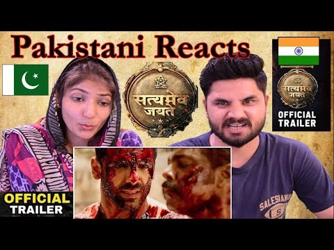 Pakistani Reacts To | Satyamev Jayate Official Trailer | John Abraham | Manoj Bajpayee