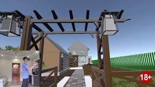 Qurilish va ta'mirlash Virtual 3D dizayn. VR test uy.