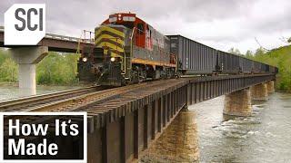 How It's Made: Railway Bridge Ties
